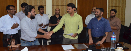 MoU signing with ISOC PK IBD
