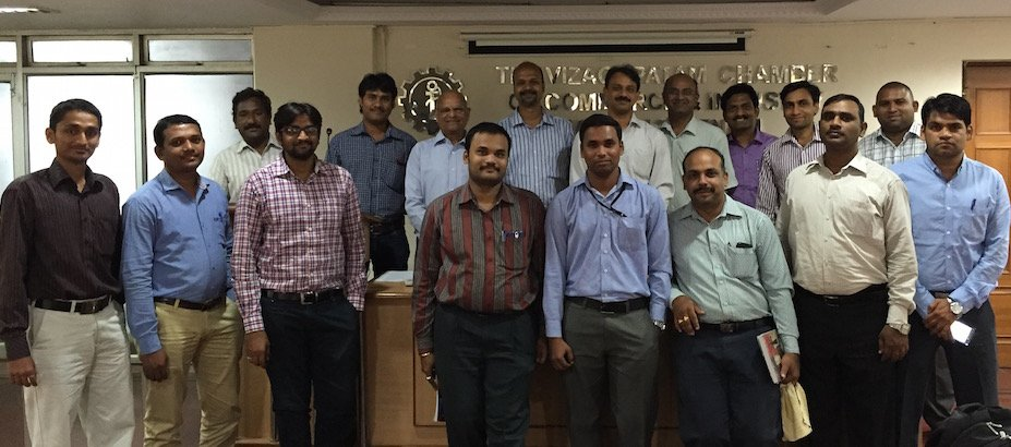 Attendees at one of the Visakhapatnam seminars