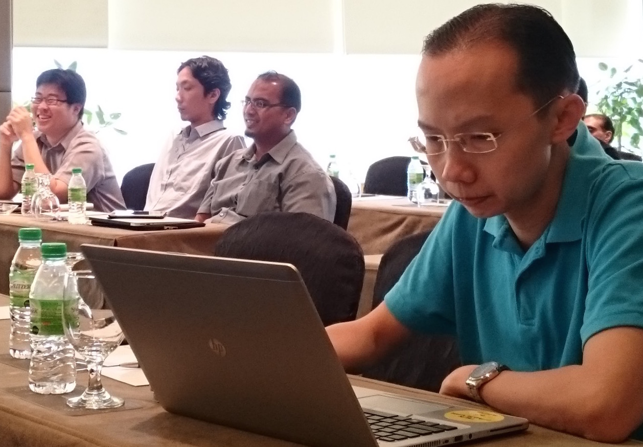 The two-day workshop was held 21-22 October 2015 in Kuala Lumpur, Malaysia