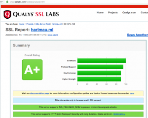 Use SSL Lab service to check the settings for mod_ssl