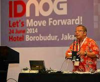 Onno Purbo presenting at IDNOG1
