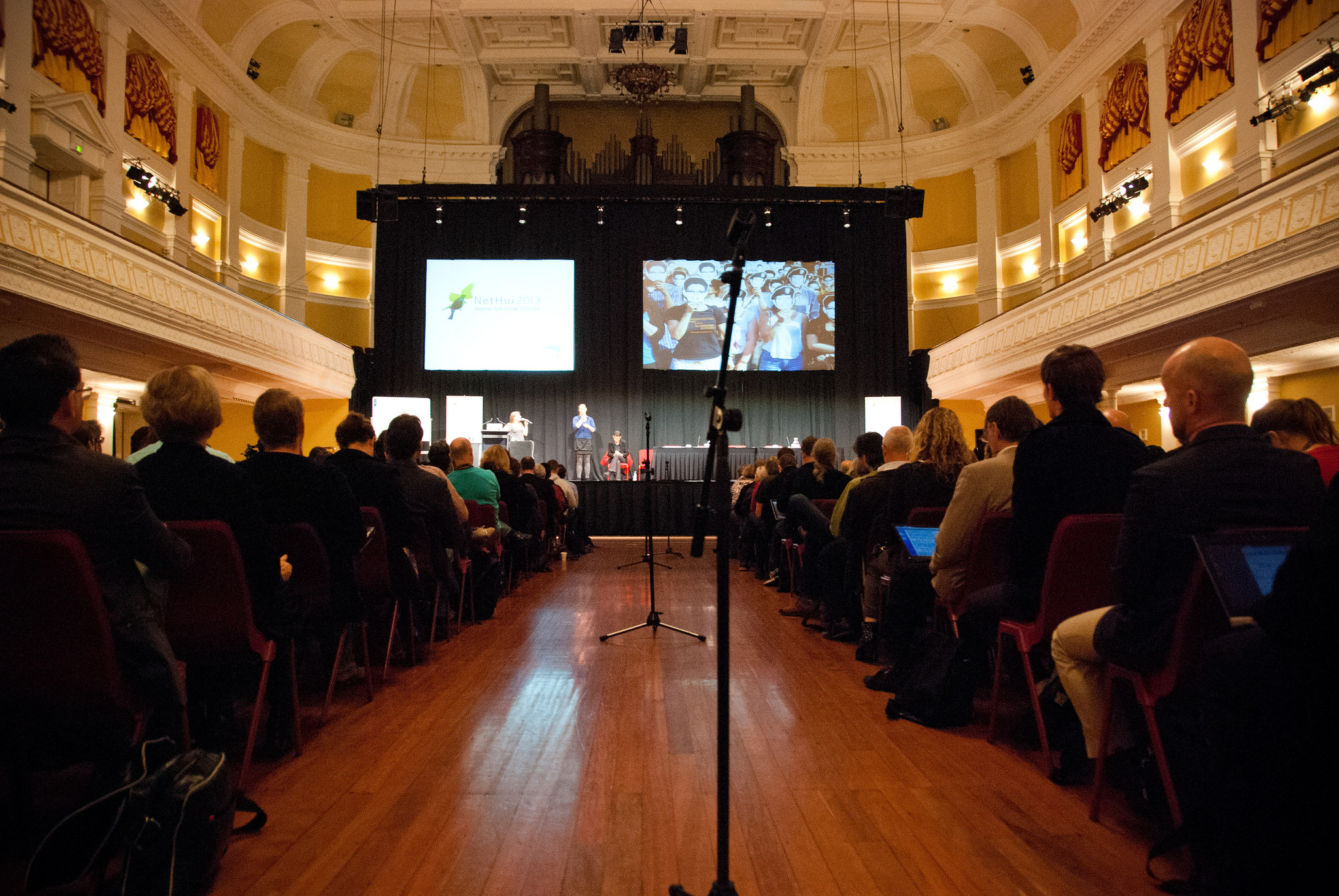 Attendance has grown each year at NetHui events