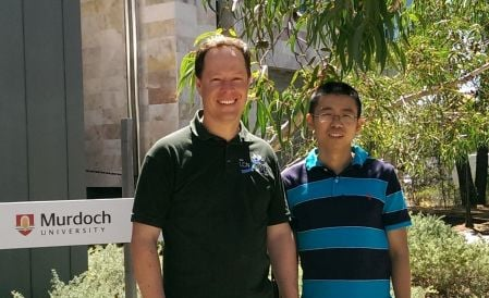 Dr Sebastian Zander (left) will lead a team to assess the current state and trajectory of IPv6 deployment in Australia and China
