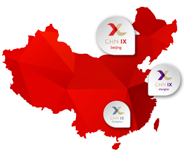 CHN-IX has launched IXs in Beijing and Guangzhou, and will launch a third IX in Shanghai by July 2016.