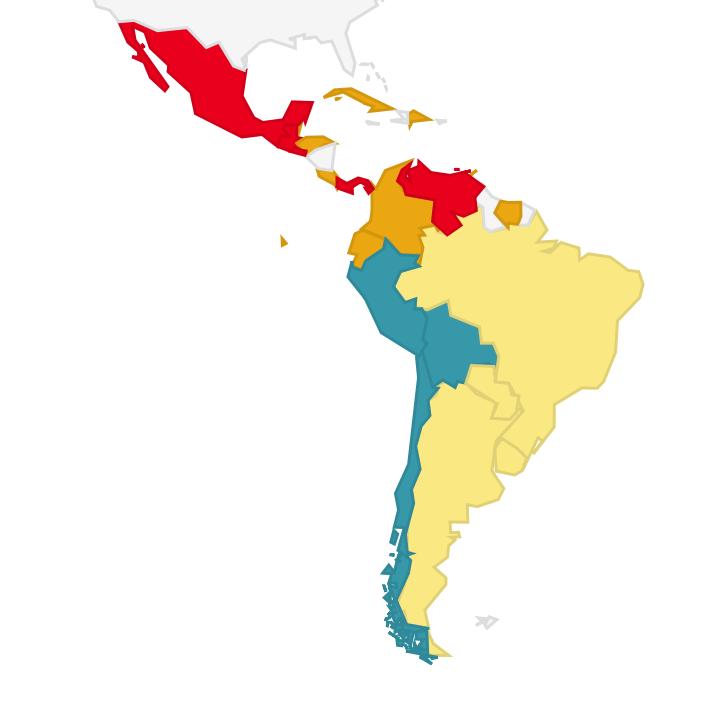 LACNIC map