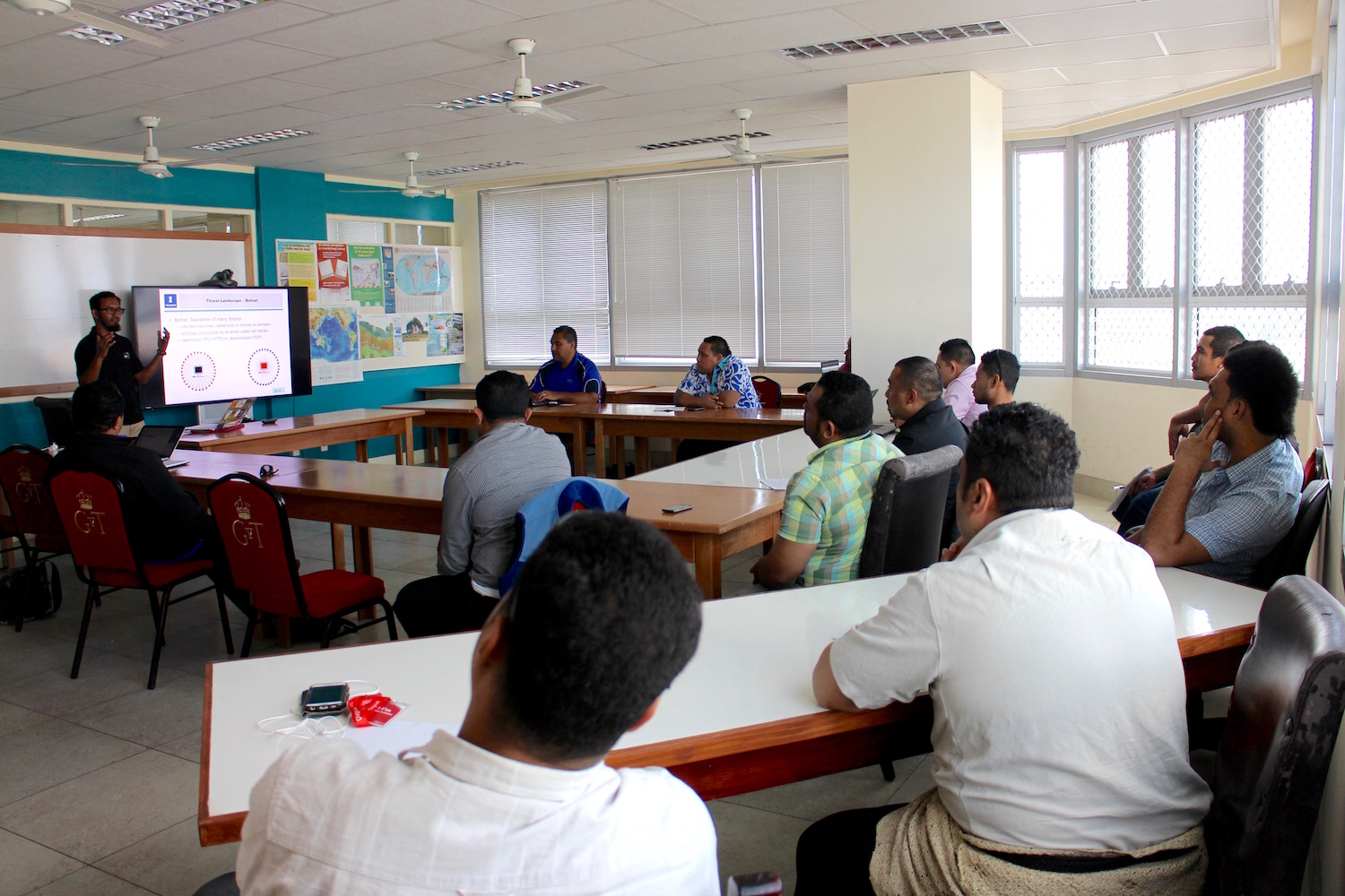 APNIC was invited to conduct a two-day Computer Emergency Response Team (CERT) workshop, 12 to 13 May 2016 in Nuku'alofa, Tonga