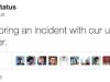 DDoS tweet