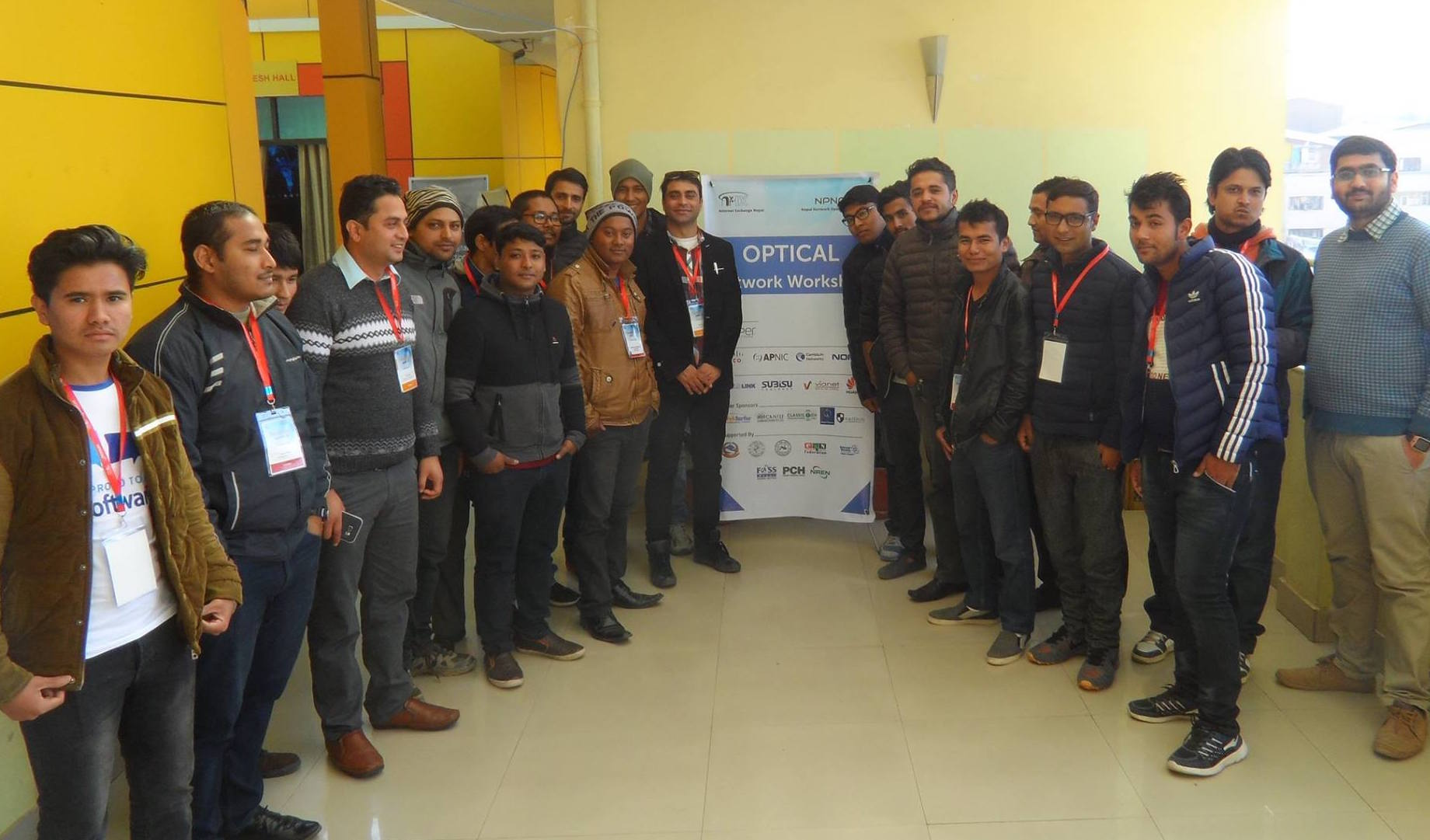 SOHO Network Design workshop held at npNOG 1. Source: Nirajan Parajuli
