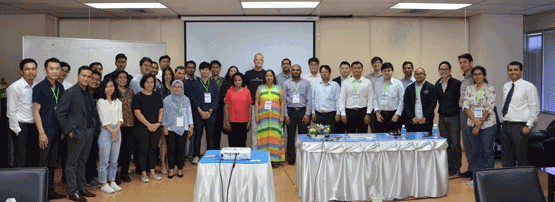 Workshop attendees learned about Internet and IPv6 security during the five day course in Bangkok.