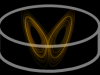 router icon with an image of a lorenz attractor inside