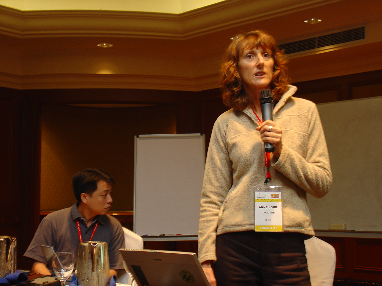 Anne Lord was one of the co-proposers of the APNIC Policy Development Process.