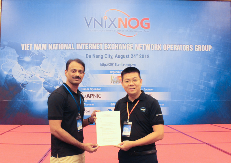 APNIC and VNNIC signed an MoU