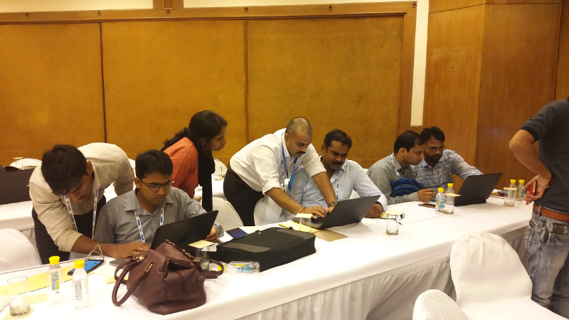 Participants at the INNOG IPv6 workshop