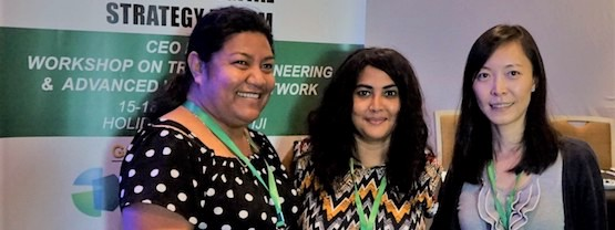 Women in ICT: Supporting more women into senior positions in the Pacific