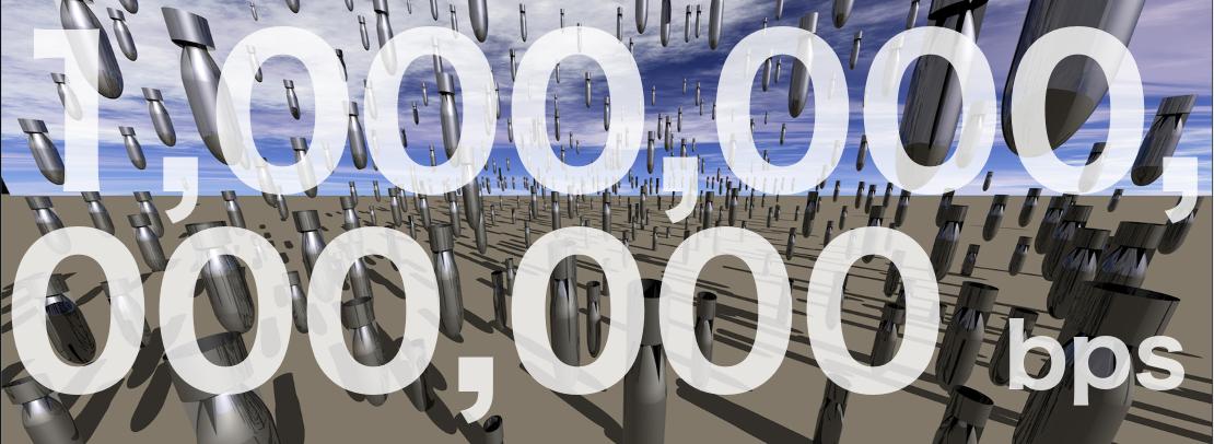 DDoS defences in the terabit era: Attack trends, carpet bombing