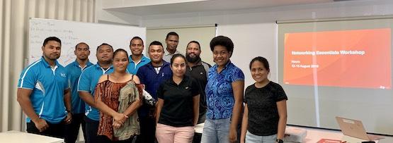 Hands-on training seeks to secure Nauru's future networks