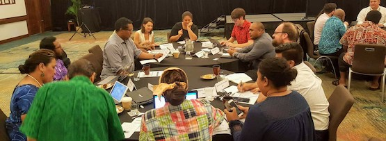 Mapping cyber capacity building in the Pacific