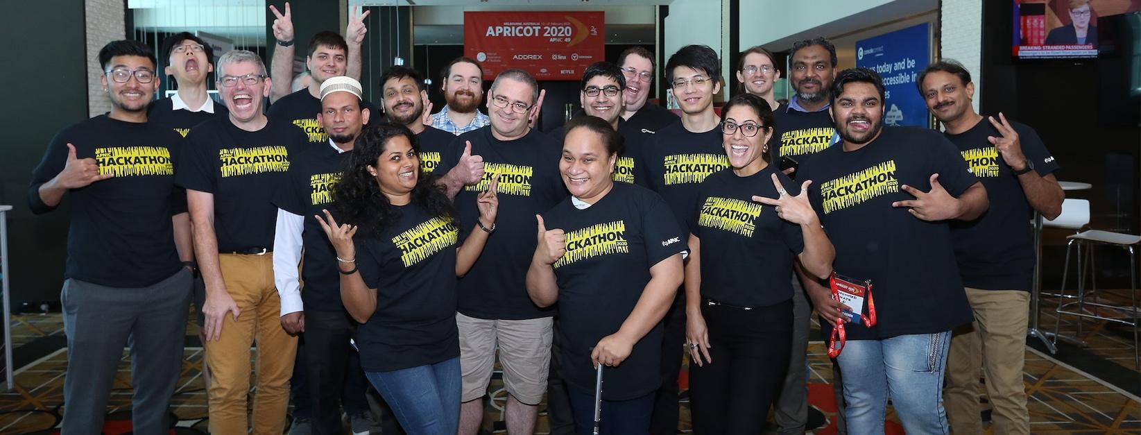 Teamwork shines through at 3rd APNIC Hackathon
