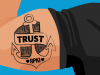 Trust anchor tattoo banner RPKI