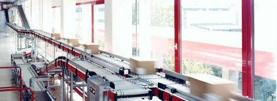 An image of a conveyor belt