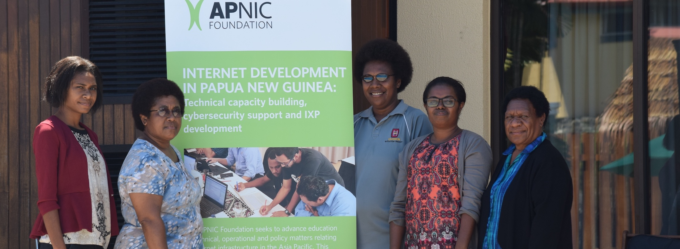 Fostering community key outcome from technical training in PNG