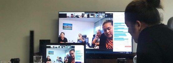 Tonga Women ICT Virtual catchup banner