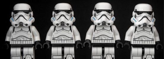stormtoopers as dopplegangers