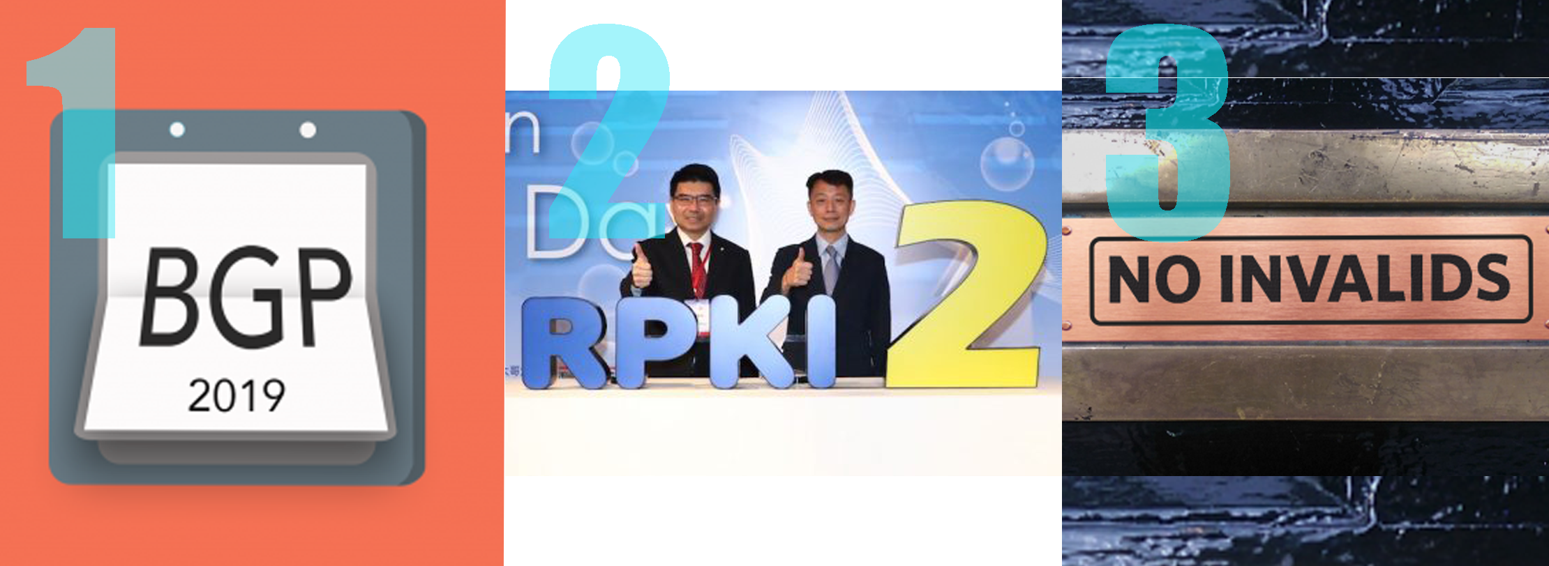 Three of the best: RPKI