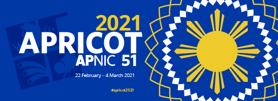 APRICOT 2021 Banner