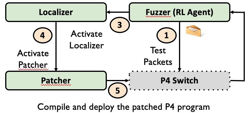 An image showing the P6 workflow