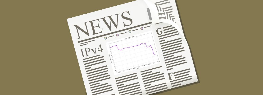 IPv4 in the headlines