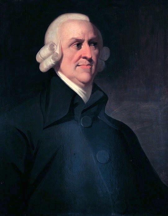 Adam Smith provided a definition an an efficient market.