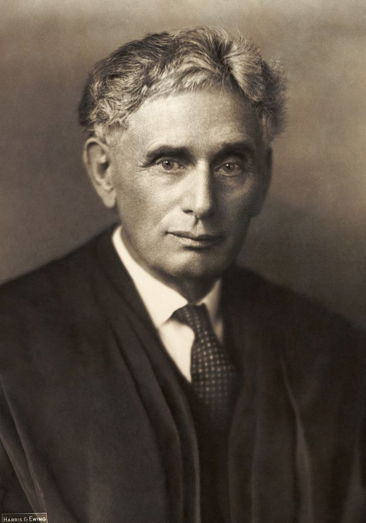 Louis Brandeis argued that big business was too big to be managed effectively in all cases.