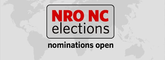 Nominations now open for the NRO NC Election 2021