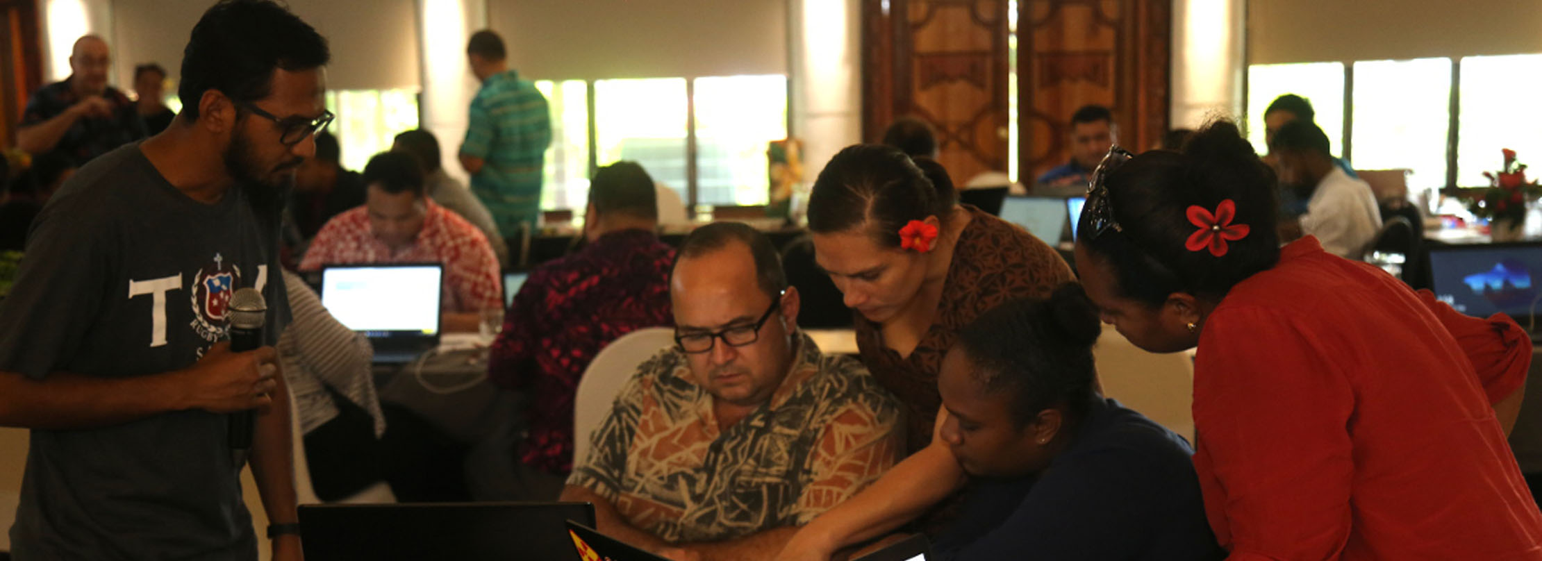 How can organizations support cybersecurity in the Pacific?